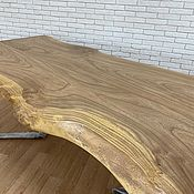 Для дома и интерьера handmade. Livemaster - original item Dining table made of elm. Handmade.