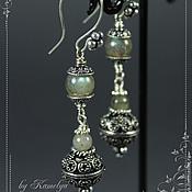 Украшения handmade. Livemaster - original item Earrings Labrador