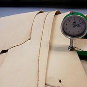 Кожа ручной работы. Ярмарка Мастеров - ручная работа 6005/16-1 Растительное дубление (1,6-2,0) жесткость малая. Handmade.