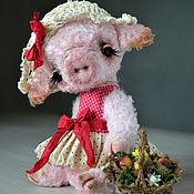 """Куклы и игрушки ручной работы. Ярмарка Мастеров - ручная работа Свинка тедди """"Долли"""". Handmade."""