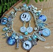 Украшения handmade. Livemaster - original item Harry Potter jewelry set handmade bracelet earrings. Handmade.