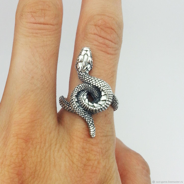 Snake Ring 925 Sterling Silver Shop Online On Livemaster