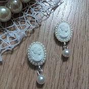 Материалы для творчества handmade. Livemaster - original item !Scrapbooking. Decor-the buckle,brooch with rhinestones, CAMEO, pearls. Handmade.