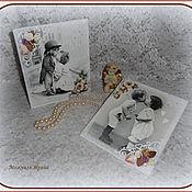 """Для дома и интерьера ручной работы. Ярмарка Мастеров - ручная работа Панно """"Поцелуй"""". Handmade."""