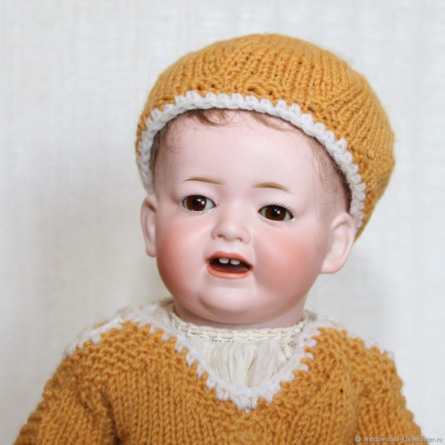 Antique doll Kley & Hahn 525 (Germany), Ball-jointed doll, Rostov-on-Don,  Фото №1