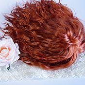 Кастом ручной работы. Ярмарка Мастеров - ручная работа Готовый скальп блайз с натуральными волосыми (локоны козочки). Handmade.