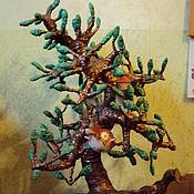 """Для дома и интерьера ручной работы. Ярмарка Мастеров - ручная работа Интерьерное """"Волшебное дерево"""". Handmade."""