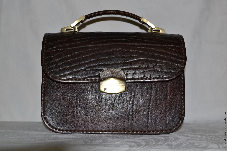 aa5086b45b82 Мужские сумки ручной работы. Ярмарка Мастеров - ручная работа. Купить  Барсетка мужская классическая коричневого ...
