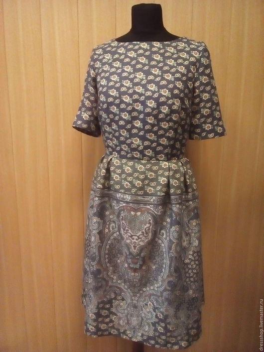 Платья ручной работы. Ярмарка Мастеров - ручная работа. Купить Платье из тонкой шерсти. Handmade. Бежевый, подкладка