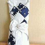 Работы для детей, ручной работы. Ярмарка Мастеров - ручная работа Конверт-одеялко на выписку из роддома. Handmade.