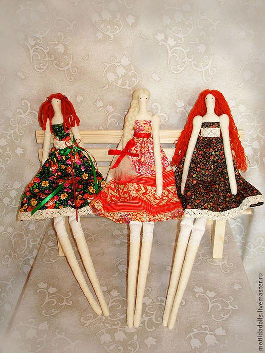 Куклы Тильды ручной работы. Ярмарка Мастеров - ручная работа. Купить Тильды подружки. Handmade. Тильда, текстильная игрушка