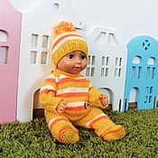 Куклы и игрушки handmade. Livemaster - original item Clothes for Baby Bon