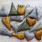 Сувениры и подарки handmade. Livemaster - original item Christmas decorations. Textile.. Handmade.