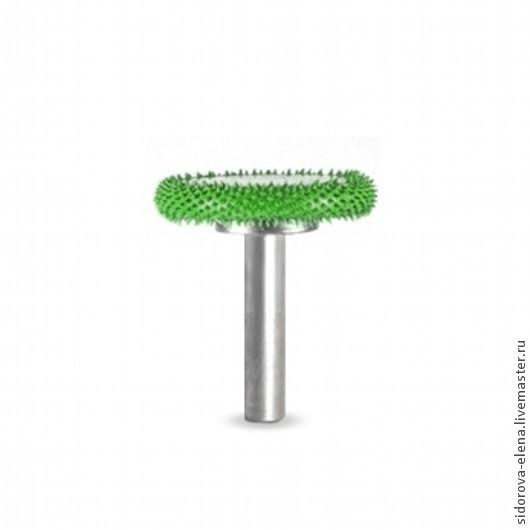 Другие виды рукоделия ручной работы. Ярмарка Мастеров - ручная работа. Купить Диск Сабурр средний зеленый. Handmade. Зеленый