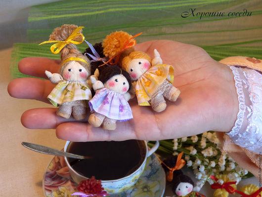 Сувениры ручной работы. Ярмарка Мастеров - ручная работа. Купить Текстильная миниатюра в народных традициях. Handmade. Комбинированный, рукоделие