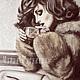 Люди, ручной работы. HOLIDAY картина пастелью. Мария Ратникова.Художник..Дизайнер (ramaria9). Интернет-магазин Ярмарка Мастеров. Шоколад