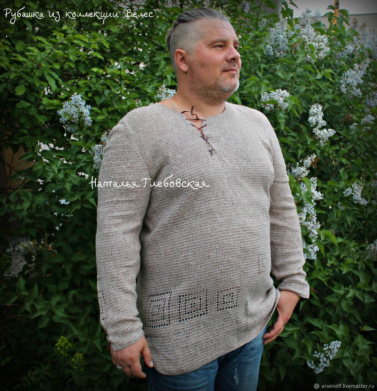 """Рубашка из коллекции """"Велес"""", Mens shirts, Orenburg,  Фото №1"""