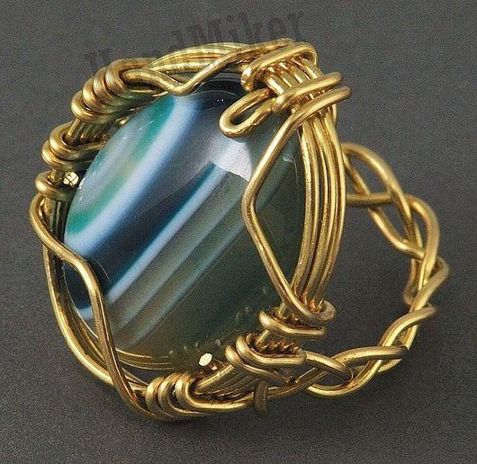 """Кольца ручной работы. Ярмарка Мастеров - ручная работа. Купить Перстень """"Межзвездный ветер"""". Handmade. Агат, кольцо, фантастика, агат"""