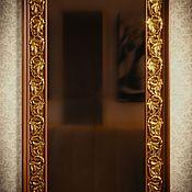 Для дома и интерьера ручной работы. Ярмарка Мастеров - ручная работа Деревянное настенное зеркало. Handmade.