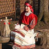 Русский стиль ручной работы. Ярмарка Мастеров - ручная работа Костюм в этностиле для девушки. Handmade.