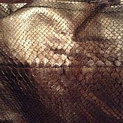 Винтаж ручной работы. Ярмарка Мастеров - ручная работа FENDI брюки из питона, оригинал, НОВЫЕ. Handmade.