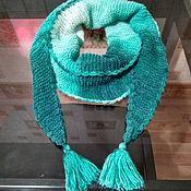 Аксессуары ручной работы. Ярмарка Мастеров - ручная работа шарф Бактус. Handmade.