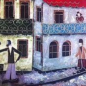 Картины и панно ручной работы. Ярмарка Мастеров - ручная работа ,Старый Тбилиси.. Handmade.