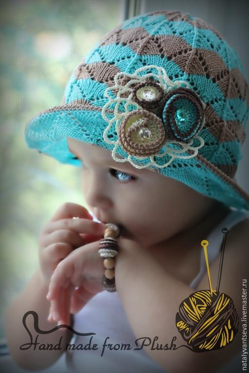 Обучающие материалы ручной работы. Ярмарка Мастеров - ручная работа. Купить МК-описание шляпки спицами Лагуна. Handmade. МК