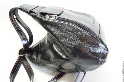 Рюкзаки ручной работы. Ярмарка Мастеров - ручная работа. Купить Сумка рюкзак женская МОДЕЛЬ 33 Кожаный рюкзак. Handmade.