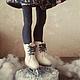 Коллекционные куклы ручной работы. Авторская кукла Юлька фигуристка - коньки и лед. Зима. Зимнее настроение. Елисеева Алена Куклы и Игрушки. Ярмарка Мастеров