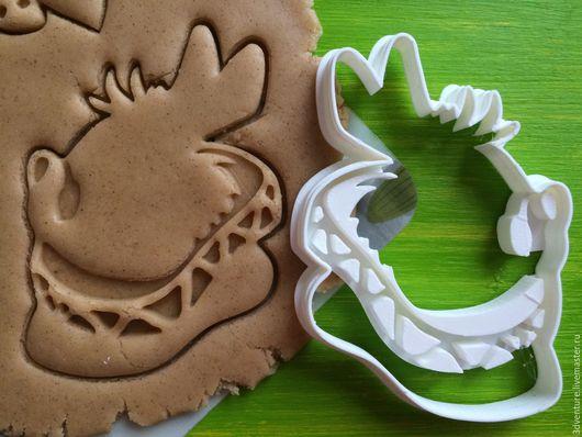 Кухня ручной работы. Ярмарка Мастеров - ручная работа. Купить Форма для печенья Белый кролик. Handmade. Разноцветный, формочка для печенья