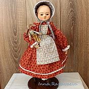 Куклы и игрушки ручной работы. Ярмарка Мастеров - ручная работа Кристи. Кукла в стиле Izannah Walker. Handmade.