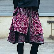 Одежда ручной работы. Ярмарка Мастеров - ручная работа Юбка бохо-шик Bali Port. Handmade.