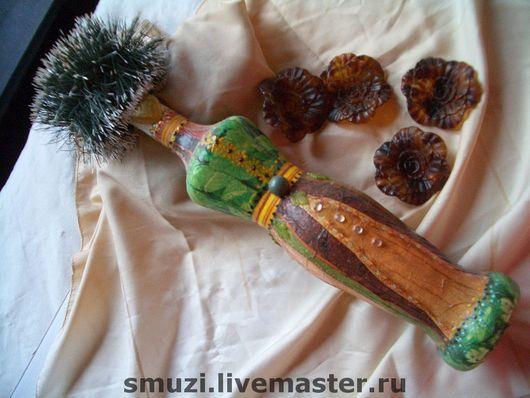 Подарочное оформление бутылок ручной работы. Ярмарка Мастеров - ручная работа. Купить ВИЗИТ ДАМЫ бутылка (пустая)-  коллекция ДАМЫ. Handmade.