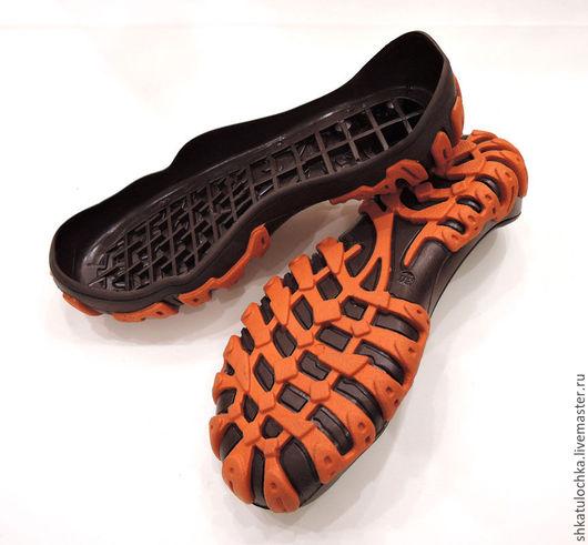 Валяние ручной работы. Ярмарка Мастеров - ручная работа. Купить Подошва детская №10 для уличной обуви размеры от 20 до 30. Handmade.
