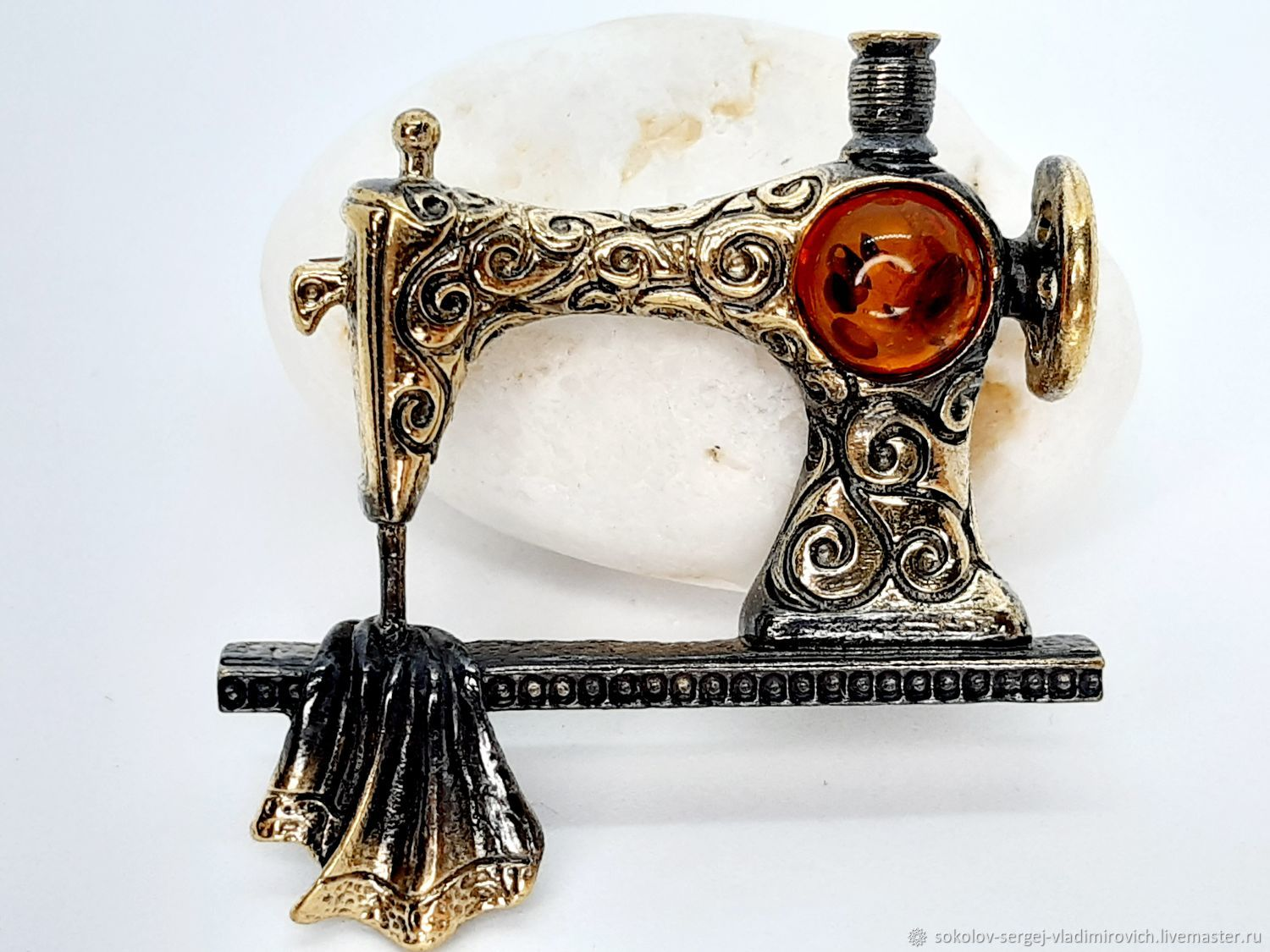 Brooch Sewing Machine, Brooches, Moscow,  Фото №1