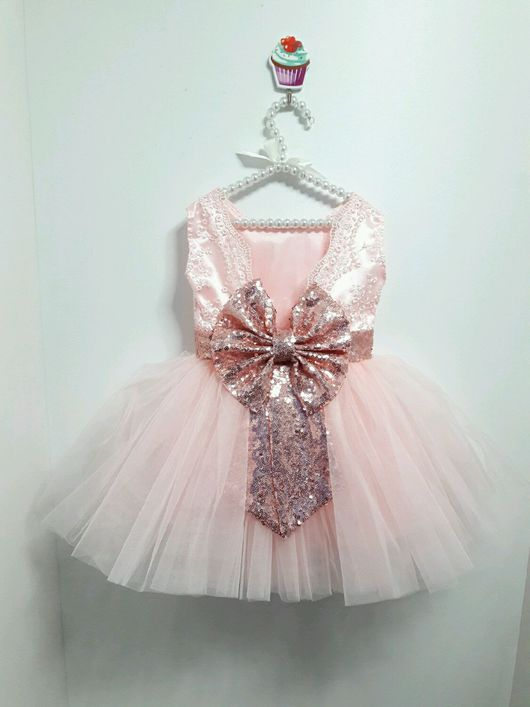 Одежда для девочек, ручной работы. Ярмарка Мастеров - ручная работа. Купить Нарядное платья для девочек. Handmade. Детское нарядное платье