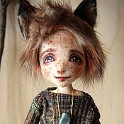 Куклы и игрушки ручной работы. Ярмарка Мастеров - ручная работа Лисенок Дион. Handmade.