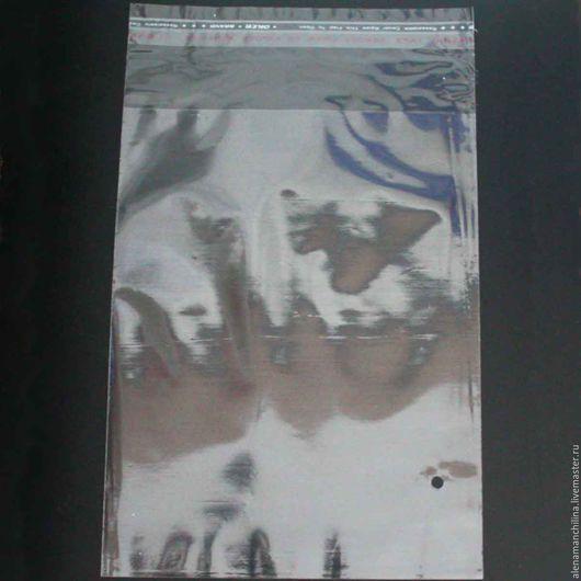 Упаковка ручной работы. Ярмарка Мастеров - ручная работа. Купить Пакет 15х20/25 см. прозрачный с клеевым клапаном (с проб. отверстием). Handmade.