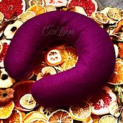 """Подарки к праздникам ручной работы. Ярмарка Мастеров - ручная работа Греющая арома-подушка на шею """"Сиреневый лен"""". Handmade."""