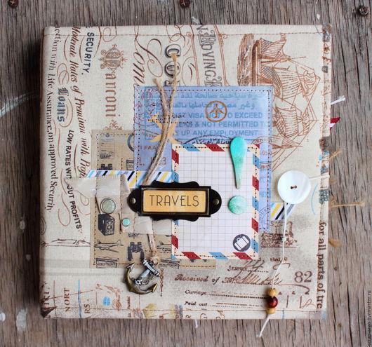 Фотоальбомы ручной работы. Ярмарка Мастеров - ручная работа. Купить Альбом для путешественника. Handmade. Альбом путешественника, египет