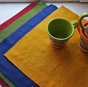 Для дома и интерьера handmade. Livemaster - original item Napkins linen for the kitchen