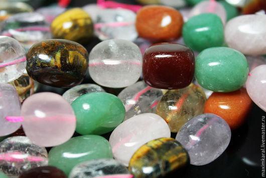 Для украшений ручной работы. Ярмарка Мастеров - ручная работа. Купить Камни разные кирпичики. Handmade. Бусины, бусина для бус