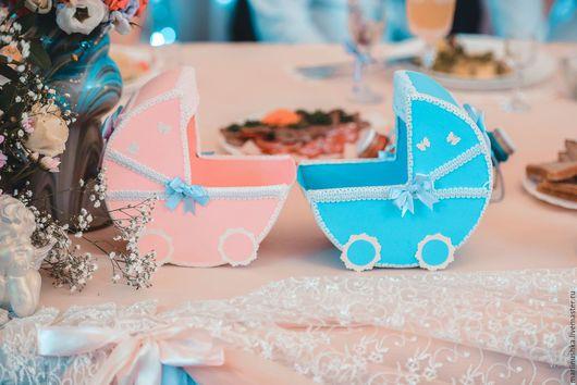 Свадебные аксессуары ручной работы. Ярмарка Мастеров - ручная работа. Купить коляски на девочку и мальчика. Handmade. Разноцветный, атрибуты для свадьбы
