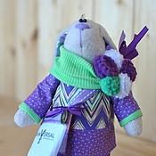 Куклы и игрушки ручной работы. Ярмарка Мастеров - ручная работа Зайка персональный подарок. Handmade.