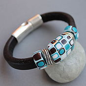 Украшения handmade. Livemaster - original item Bracelet Regaliz