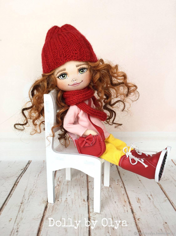 Куклы: кукла текстильная ручной работы с комплектом одежды, Куклы и пупсы, Нижний Новгород,  Фото №1