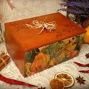 Для дома и интерьера handmade. Livemaster - original item Large box (24х16) for the kitchen