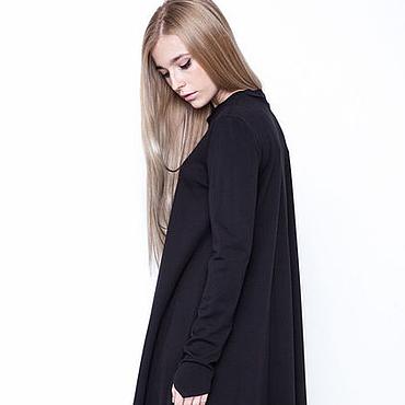 """Одежда ручной работы. Ярмарка Мастеров - ручная работа Черное платье """"Dark Corner"""". Handmade."""