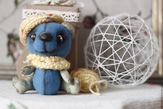 Куклы и игрушки ручной работы. Ярмарка Мастеров - ручная работа. Купить Мишка Мотя. Мини.. Handmade. Мишка ручной работы